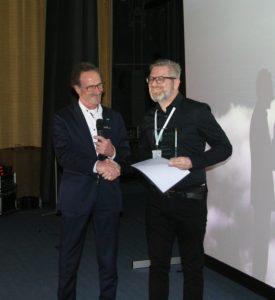 Dr. Marcus Rudolph, Preisträger und Dr. Sebastian Wirtz, Vorsitzender der AGNN (v.r.n.l.)